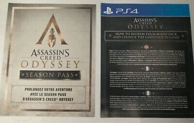 notices assassin's creed odyssey ps4