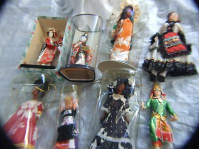 Vintage 10 X International  Dolls Collection Japan,New Caledonia,Kewpie 0rig Box