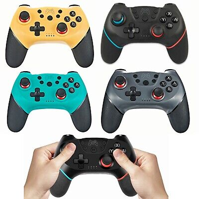 For Nintendo Switch Pro Wireless Bluetooth Gamepad Game Controller Black Grey UK