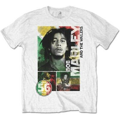 BOB MARLEY 56 Hope Road Mens T Shirt Unisex Tee Official Licensed Band Merch