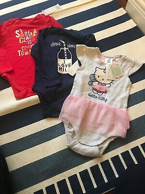 Baby Girl Bundle 12-18 Months, F &F, Hello Kitty, All New