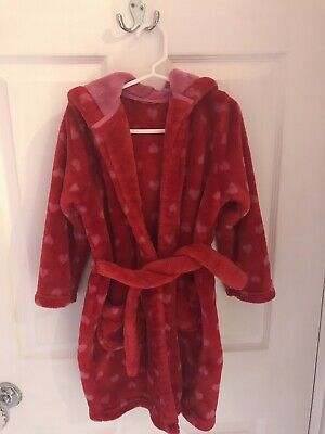 Girls Dressing Gown M & S 3-4 Immaculate