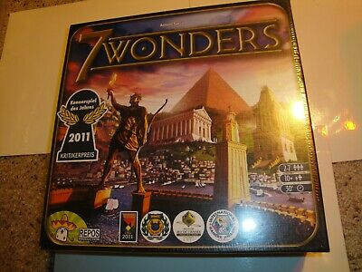BRAND NEW Asmodee Editions Seven01 7 Wonders 10+ (board game)