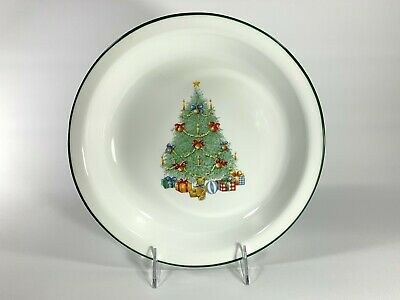 """Corelle Christmas Tree """"Holiday Magic"""" Pie Plate or Serving Dish ~ Made in USA"""