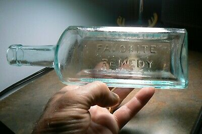 1880S Dr.kennedy's Favorite Remedy Kingston,Ny Bottle Syphilis