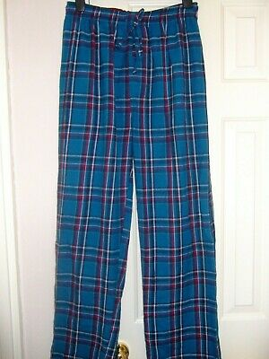 Blue Check Pyjama Bottoms Size S Debenhams
