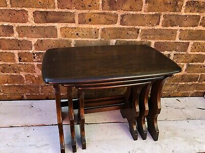 Vintage Ercol Nest Of Tables