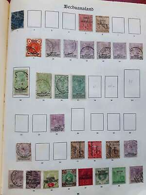 BECHUANALAND 1886-1935 Early mint & used collection on - 12926