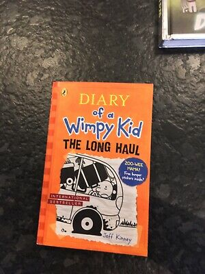 Diary Of A Wimpy Kid The Long Haul by Jeff Kinney (Hardback, 2014)