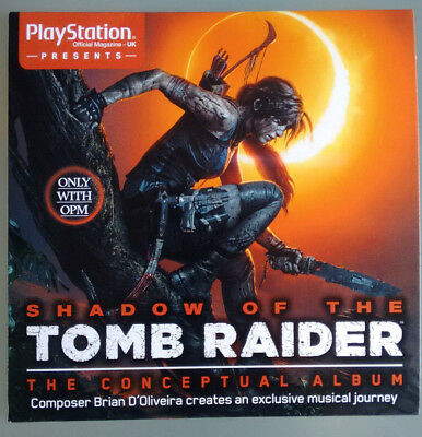 Official Shadow of the Tomb Raider Conceptual Album PS4 Xbox SOUNDTRACK Music CD