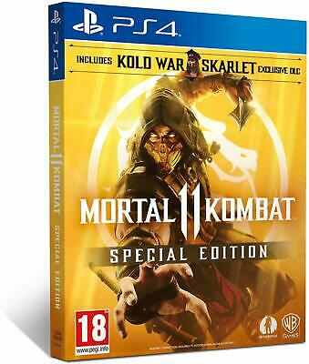 Mortal Kombat 11 Special Edition (PS4) | BRAND NEW SEALED | FAST FREE DELIVERY