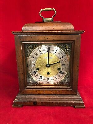 Howard Miller Triple Chime Movement Mantle Clock Working Tested Parts or Repair