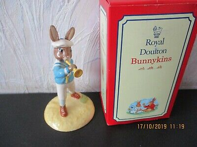 Royal Doulton Bunnykins (2002)  Little Boy Blue Bunnykins DB239 (boxed)