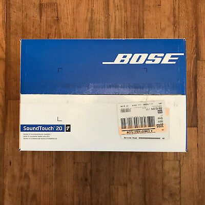 New & Sealed Bose SoundTouch 20 Series III Wireless Music System - Black