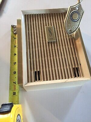 Vintage Nutone doorbell and Box With Striker Re-Purpose/Parts Decoration