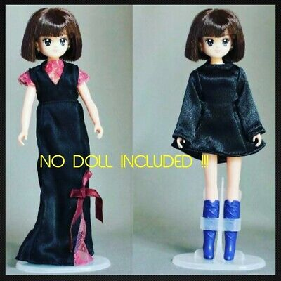 Sailor Moon Sailor Saturn Doll Dress Bandai