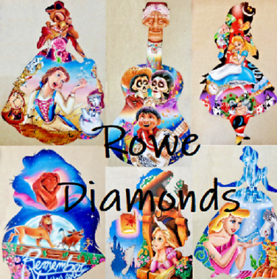 5D Diamond Painting Disney Character Lion King Princess Aurora Borealis AB UK