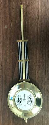Hermle Pendulum Kieninger Regulator Wall Clock 28cm Long 8cm diameter Regulator