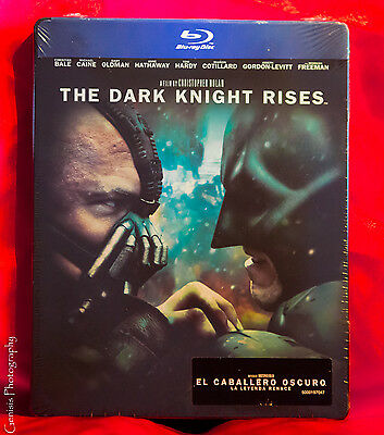 The Dark Knight Rises - Limité Steelbook Edition [Blu-Ray] sans Zonage Neuf