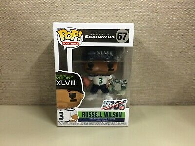 Funko POP! Football: NFL - Russell Wilson Seattle Seahawks Super Bowl XLVIII #57