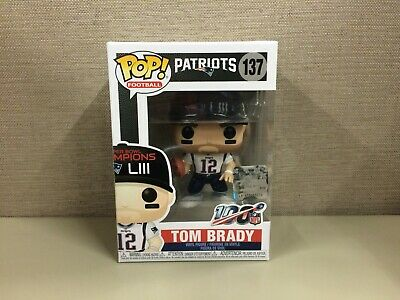Funko POP! Football: NFL - Tom Brady New England Patriots Super Bowl LIII #137