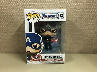Funko POP! Marvel: Avengers: Endgame - Captain America with Mjolnir #573 NIB