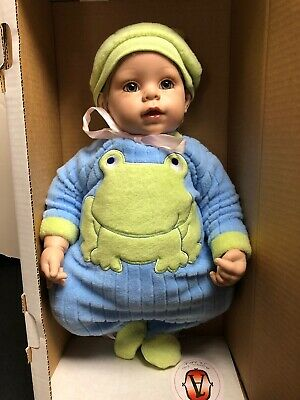 """20"""" Adora Baby Doll Limited Name Your Own Baby Adorable Boy BrunetteW/ Box & COA"""