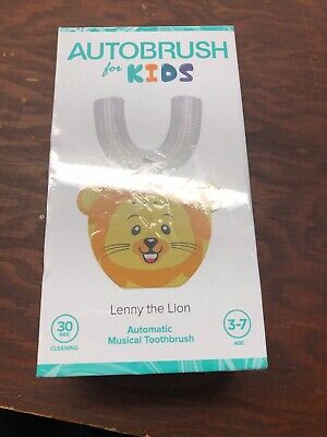 Autobrush For Kids Lenny The Lion NIB