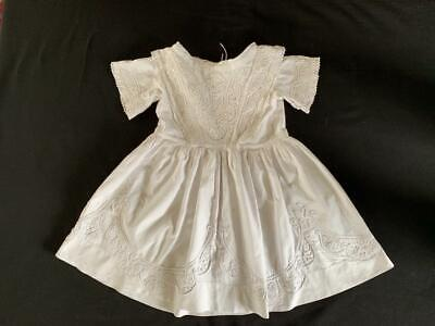 ANTIQUE VICTORIAN CHILDS DRESS SOUTACHE BRAIDING c1860-80's