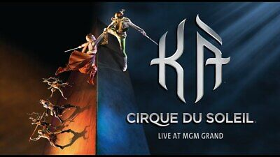 2 tickets to KA Cirque Du Soleil at the MGM Grand in Las Vegas Face Value $250