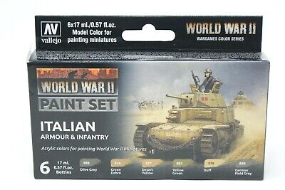 Vallejo WWII Italian Armour & Infantry VAL70209