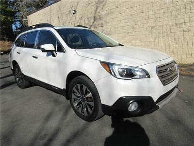 2016 Subaru Outback 2.5i Limited AWD w/NAV HIGHWAY MILES PEARL WHITE ONE OWNER NAV CAMERA LEATHER FRONT & REAR HEATED SEATS