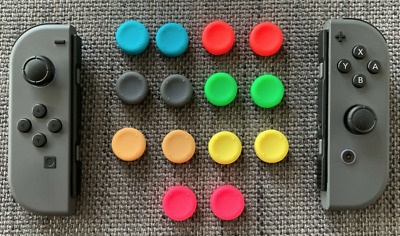 New Nintendo Switch Lite/Joy-Con Thumb Grips Extenders Controller Analog Sticks