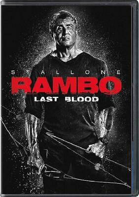 Rambo Last Blood(DVD 2019) Preorder for 12/17-Action/Thriller-Sylvester Stallone