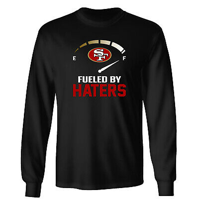 San Francisco Fueled by Haters 49ers Adults//Kids//Toddlers Unisex Tee T-Shirt