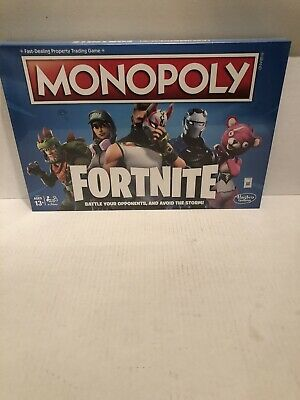 NEW Fortnite Monopoly Edition Board Game NEW Hasbro Fortnight NEW Factory Sealed