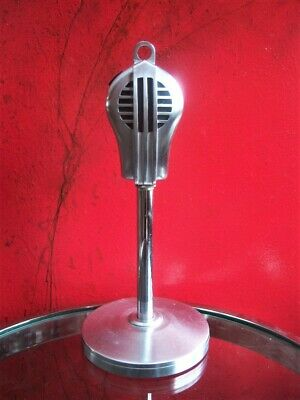 Vintage 594ms Stromberg Carlson 28AS / Tornitore 9D Microfono Dinamico con Stand