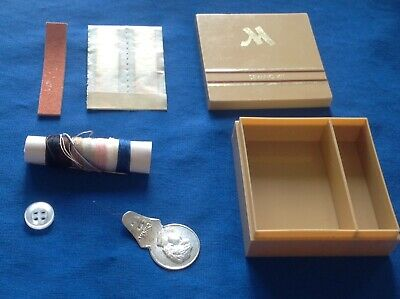 Convenient Portable Travel Pocket Sewing Kit In Plastic Box