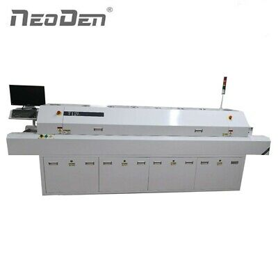 12 Heating Zones Conveyor Version SMT Soldering Oven for mass PCB Assembly