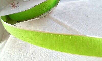 Velcro bright green 10m x 25mm
