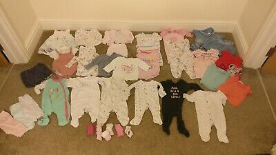 Baby girl clothes bundle 0-3 months**30+ items**