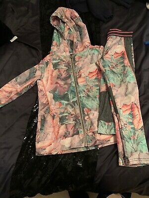 Girls Next Floral Tracksuit Age 7