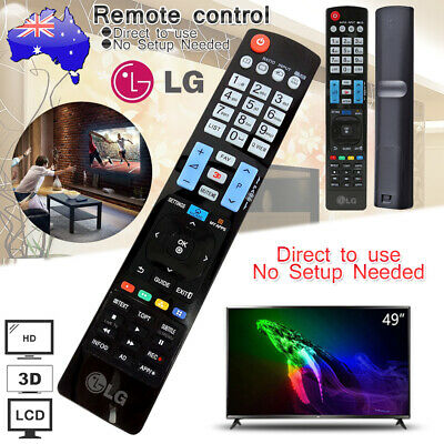 LG TV Remote Control AKB73615309 for ALL TYPES OF LG 47LM6200 55LM7600 60LM6700