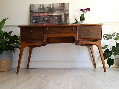 Mid century dressing table writing desk by Alfred Cox