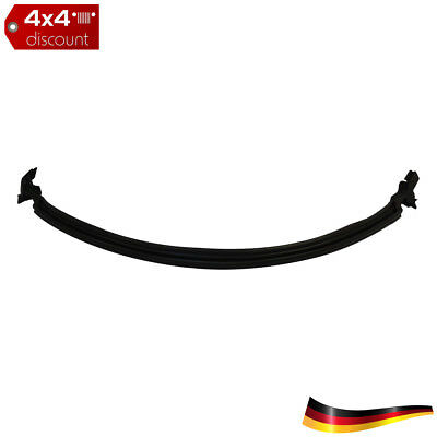 Cowl to Windshield Frame Weatherstrip, front Windshield frame to cowl Black
