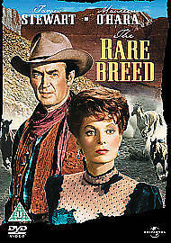 The Rare Breed-Dvd-James Stewart-Brand New Sealed
