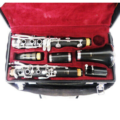 YAMAHA YCL-350F Clarinet Working Properly Good condition Free Shipping (d99