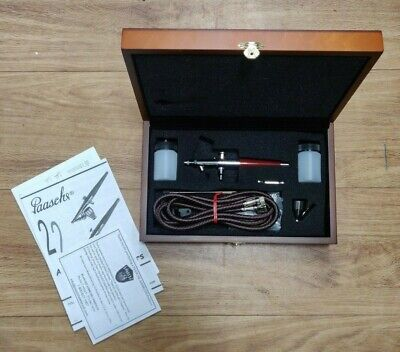Paasche Airbrush VL1118 in wooden case