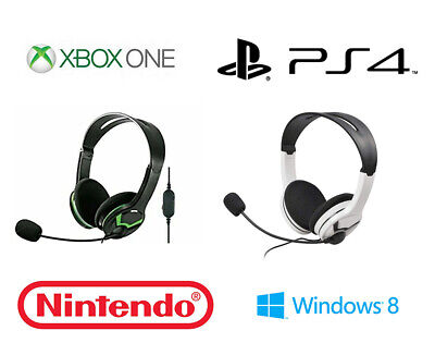 Stereo Gaming Headset For Xbox One, PS4, Nintendo, PC, MAC! Turtle Beach New!