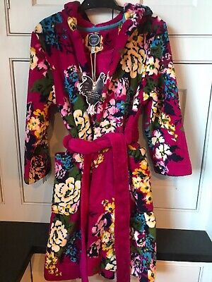 Joules Girls Dressing Gown NEW! Age 7-8